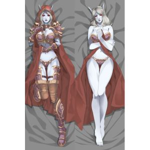 World of Warcraft Sylvanas Windrunner Dakimakura Hugging Pillow Cover