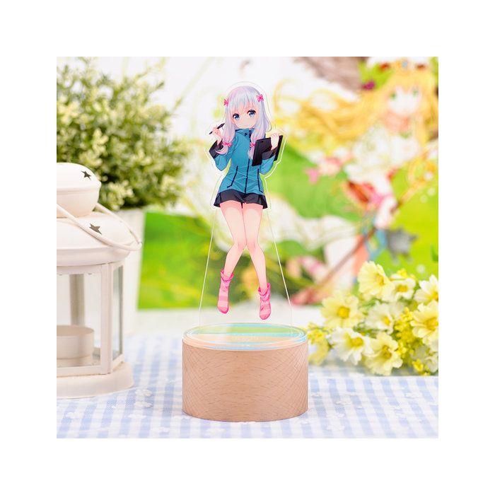 Eromanga Sensei Sagiri Izumi Big Acrylic LED Figure Stand