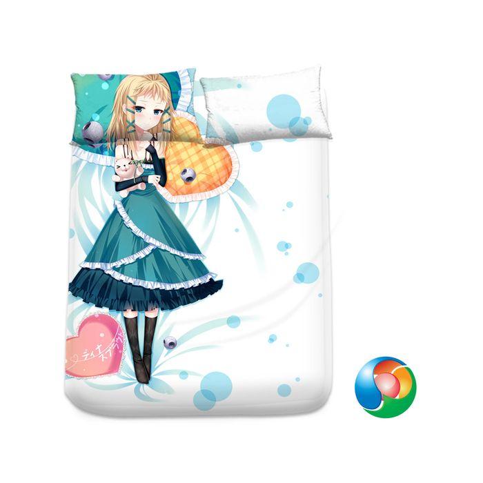 Black Bullet Anime Sheet or Duvet Cover Bedding Set