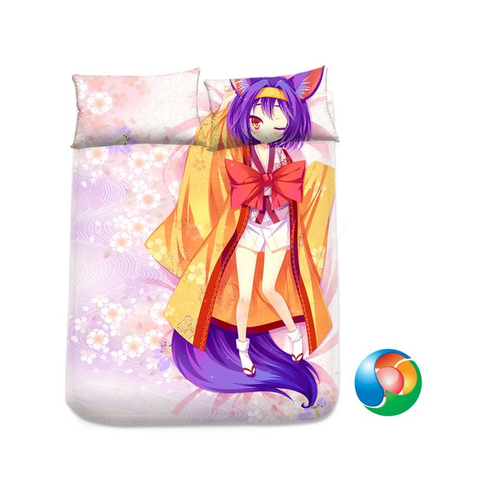 No Game No Life Anime Sheet or Duvet Cover Bedding Set