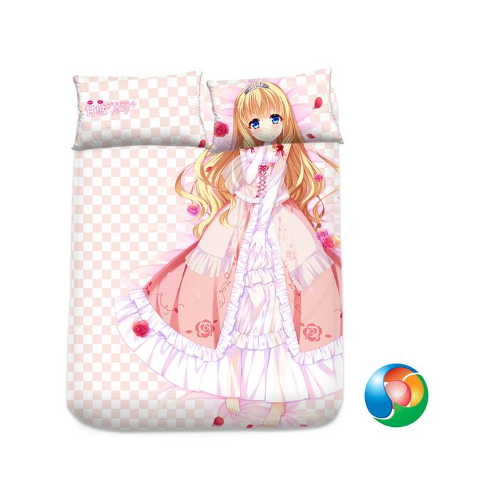 Amagi Brilliant Park Anime Sheet or Duvet Cover Bedding Set