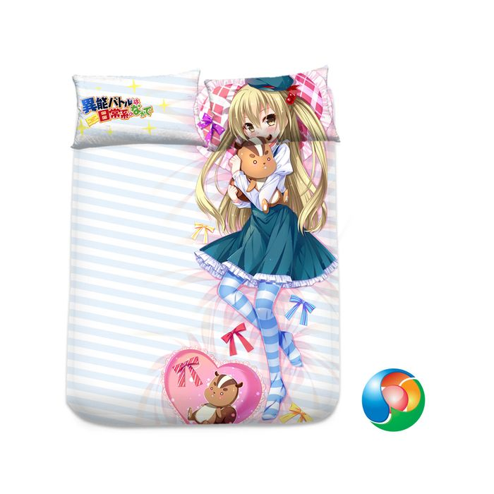 InoBato Anime Sheet or Duvet Cover Bedding Set