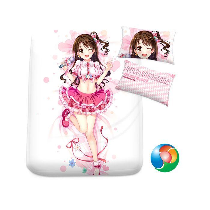 The Idolmaster Anime Sheet or Duvet Cover Bedding Set