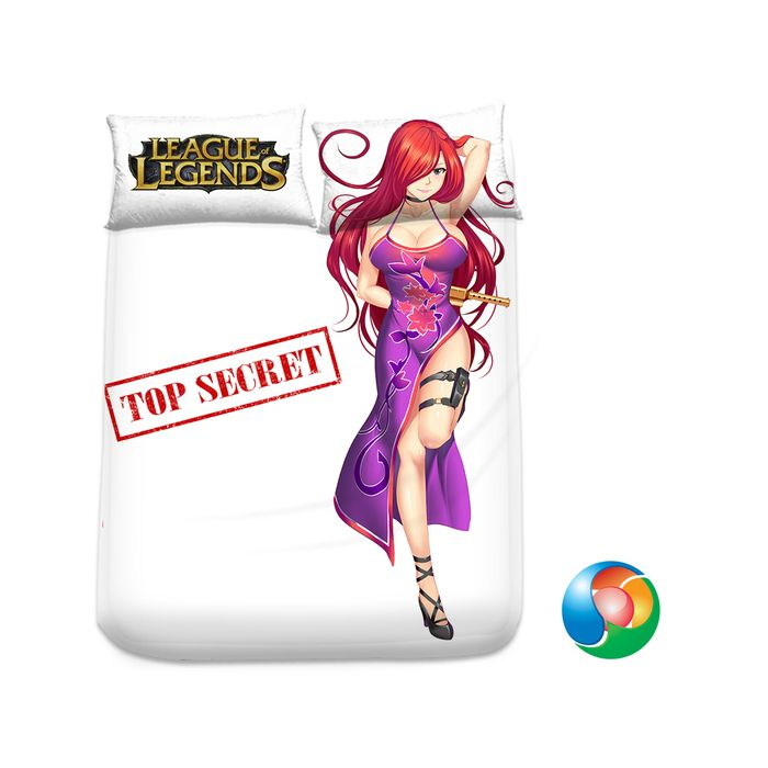 League of Legends Miss Fortune Anime Sheet or Duvet Cover Bedding Set