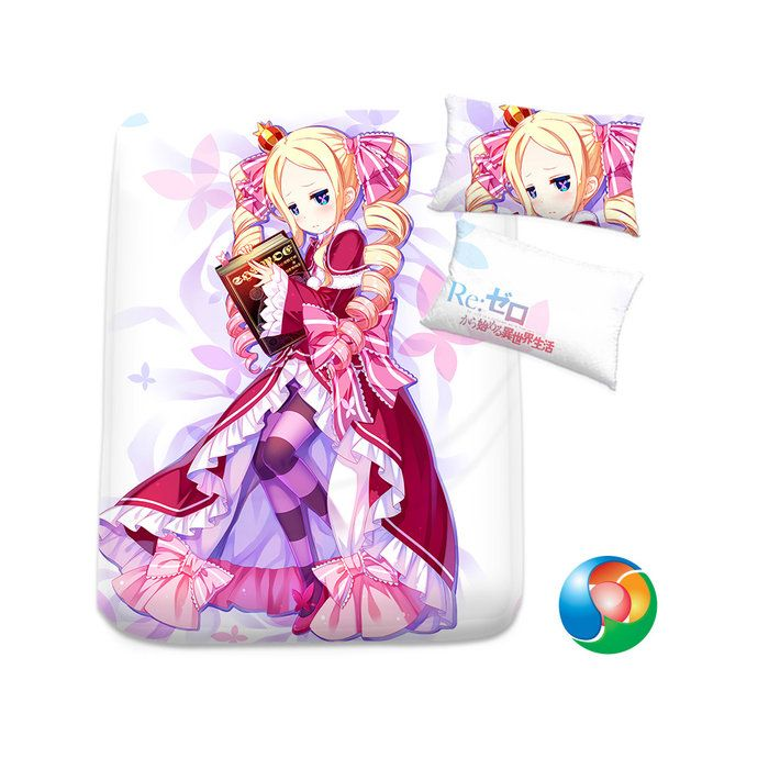 Re:Zero Anime Sheet or Duvet Cover Bedding Set