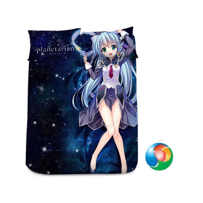 Planetarian Anime Sheet or Duvet Cover Bedding Set