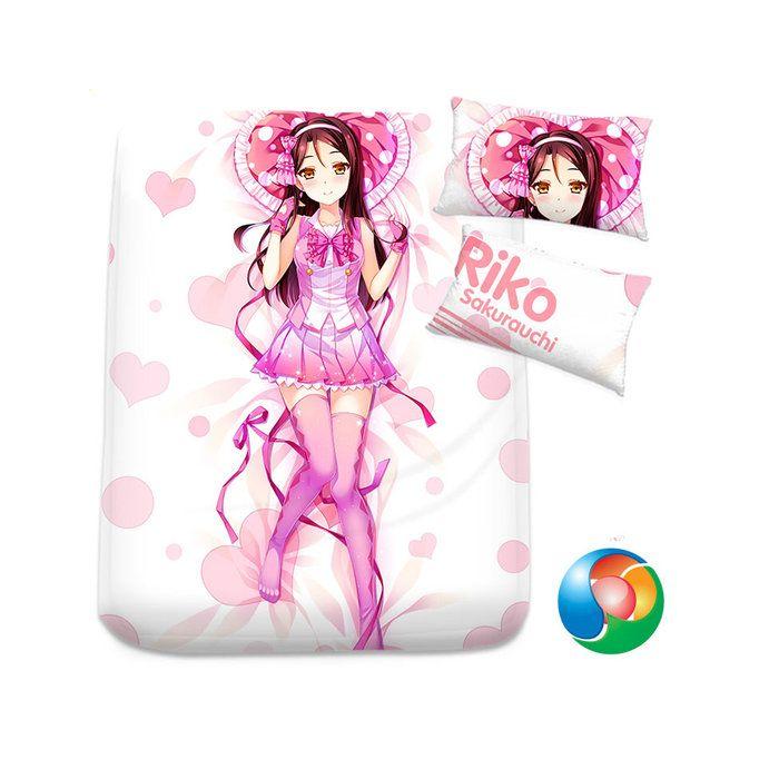 LoveLive! Sunshine!! Anime Sheet or Duvet Cover Bedding Set