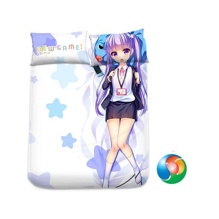New Game! Anime Sheet or Duvet Cover Bedding Set