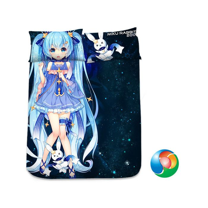 Hatsune Miku Anime Sheet or Duvet Cover Bedding Set