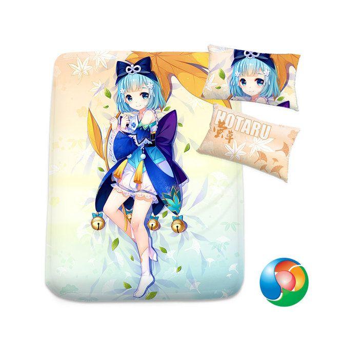 Onmyoji Anime Sheet or Duvet Cover Bedding Set