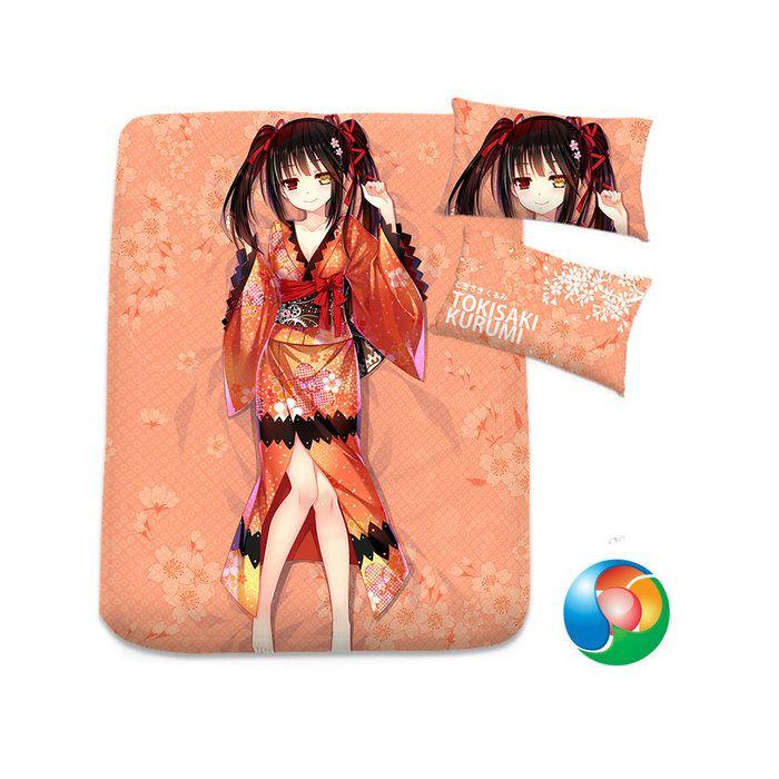 Date A Live Anime Sheet or Duvet Cover Bedding Set
