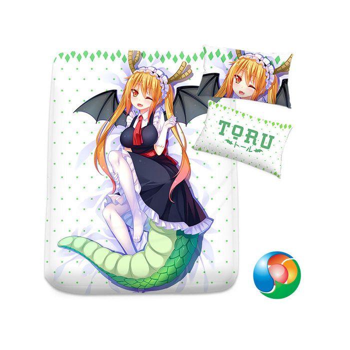 Miss Kobayashi's Dragon Maid Anime Sheet or Duvet Cover Bedding Set