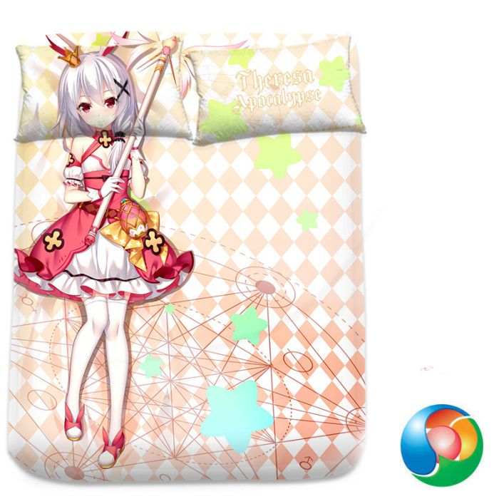 Honkai Impact 3rd Theresa Apocalypse Anime Bed Sheet or Duvet Cover