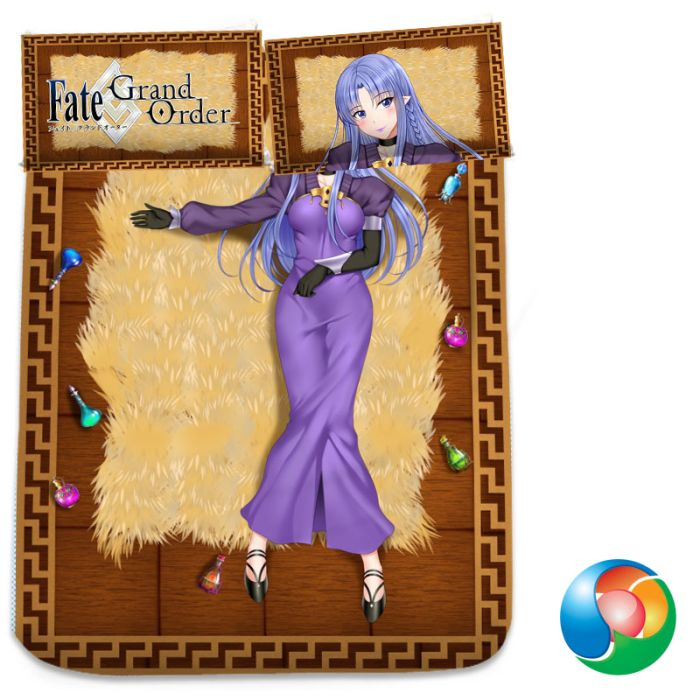 Fate Grand Order Medea Anime Bed Sheet or Duvet Cover