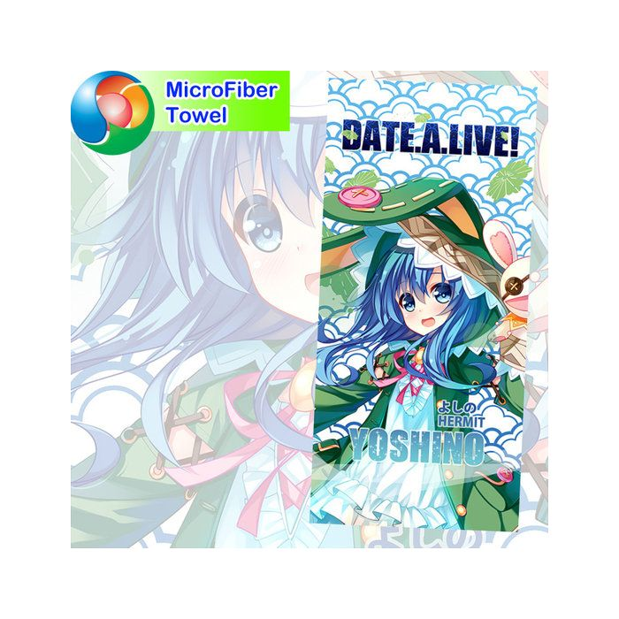Date A Live Microfiber Hand and Bath Towel