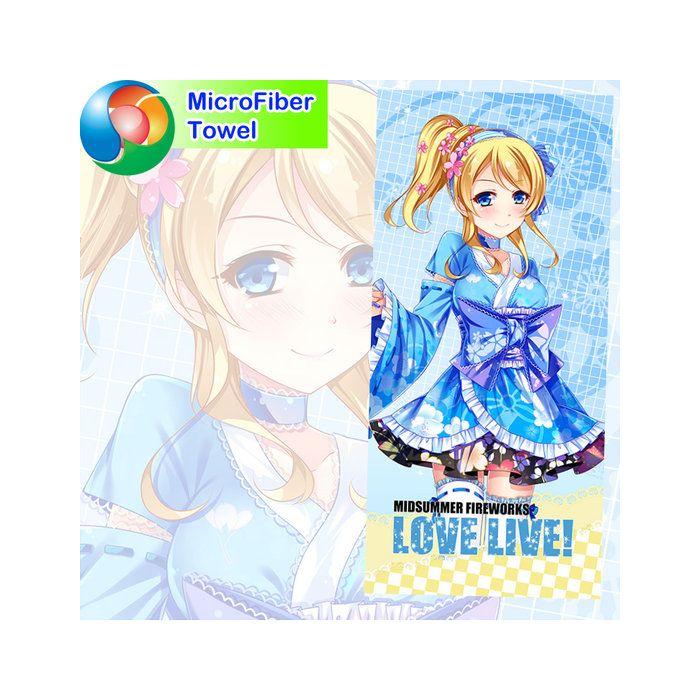 Love Live! Microfiber Hand and Bath Towel