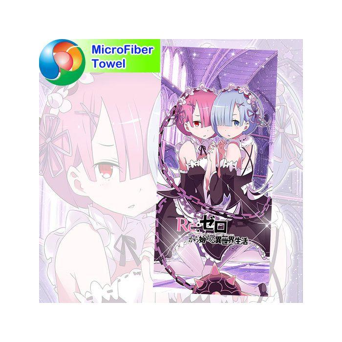 Re:Zero Microfiber Hand and Bath Towel