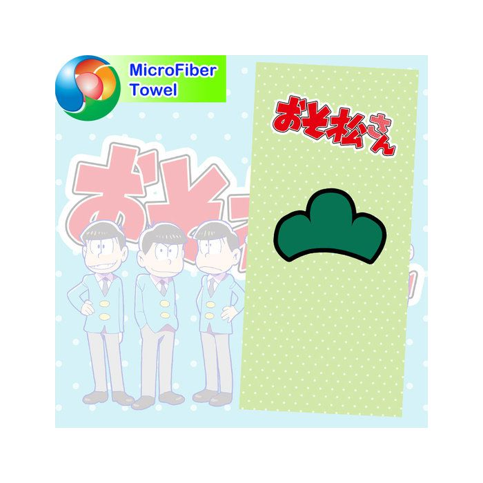 Osomatsu-kun Microfiber Hand and Bath Towel