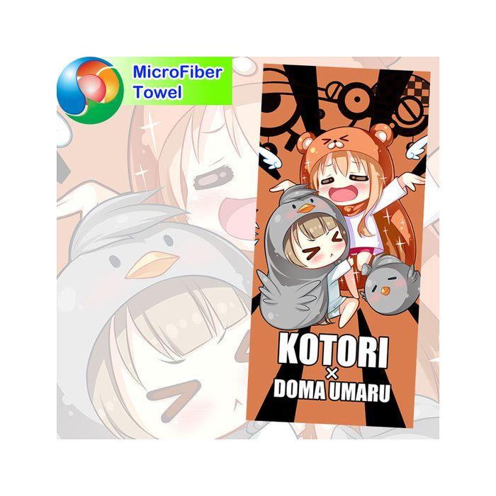 Himouto! Umaru-chan Microfiber Hand and Bath Towel