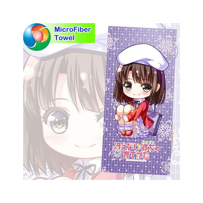 Saekano Microfiber Hand and Bath Towel