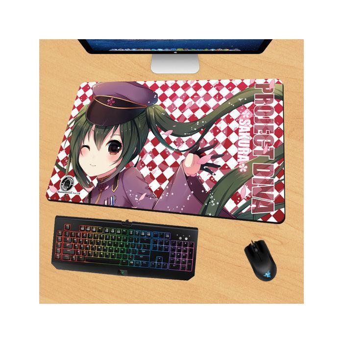 Hatsune Miku Gaming Mouse Pad Desk Pad Playmat