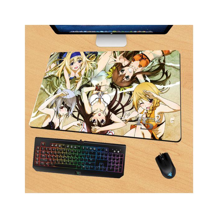 Infinite Stratos Gaming Mouse Pad Desk Pad Playmat
