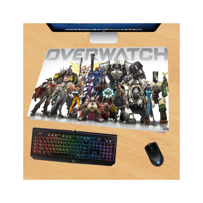 Overwatch Gaming Mouse Pad Desk Pad Playmat