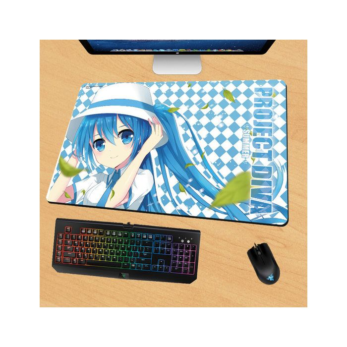 Hatsune Miku Gaming Mouse Pad Desk Pad Playmat