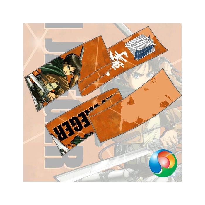 Attack On Titan - Eren Yeager Anime Scarf Towel Muffler