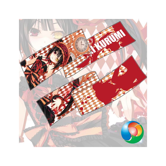 Date A Live - Tokisaki Kurumi Anime Scarf Towel Muffler