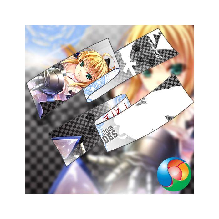 Fate - Servant Saber Anime Scarf Towel Muffler
