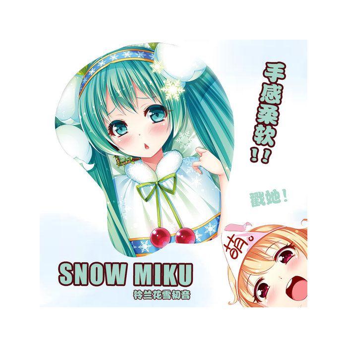 Hatsune Miku 3D Wrist Rest Mouse Pad