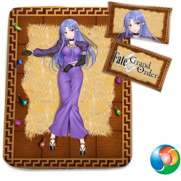 Fate Grand Order Medea Anime Bed Sheet or Duvet Cover