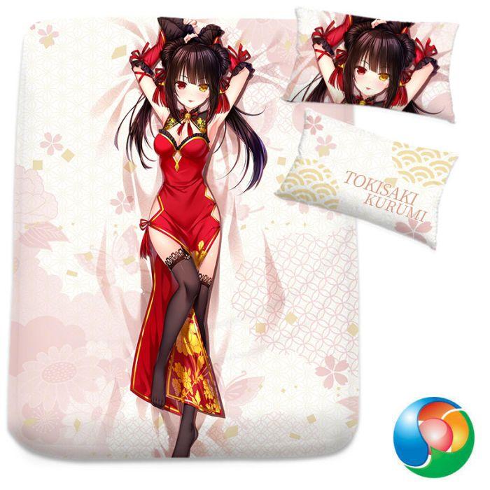 Date A Live Tokisaki Kurumi Anime Bed Sheet or Duvet Cover